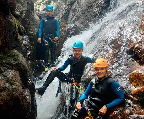 Le canyon du Tapoul se situe à Rousses