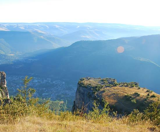 Panorama de la Vallée de Florac