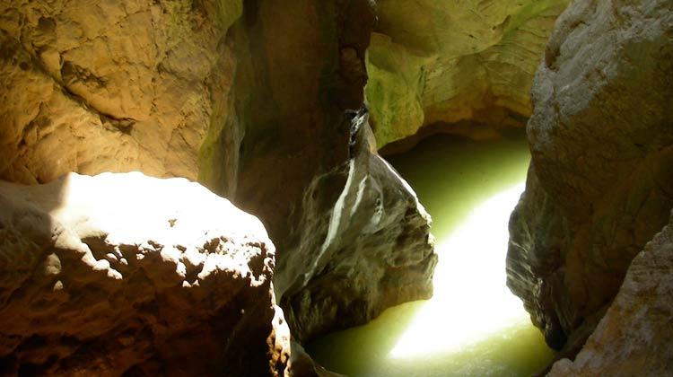 Canyon du Mascun