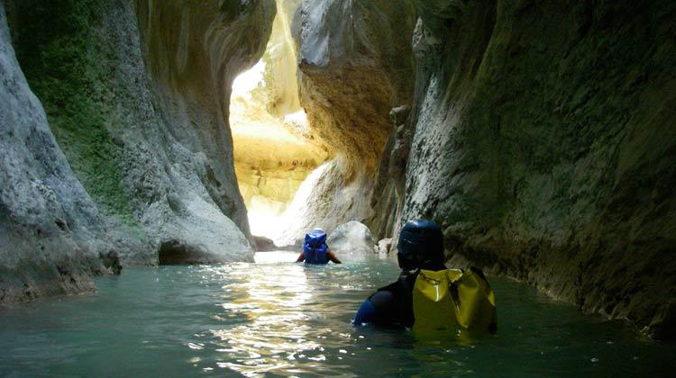 Estrechos du canyon Mascun